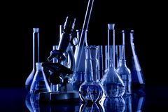 Labolatory Ausrüstung Lizenzfreies Stockbild