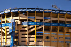 LaBombanera stadion, Buenos Aires Royaltyfria Foton