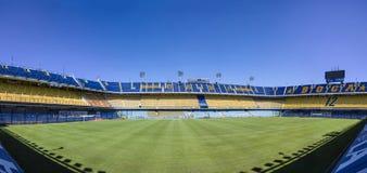 LaBombonera stadion av Boca Juniors i Argentina royaltyfria bilder
