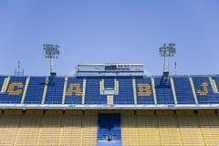 LaBombonera stadion av Boca Juniors i Argentina arkivfoto
