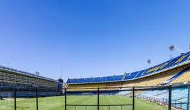 LaBombonera stadion av Boca Juniors i Argentina arkivbild