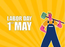 Happy Labor Day Celebration. Happy Labor Day Postcard or Poster or Flyer Template. Happy Labor Day Vector Illustration. Happy Labor Day Celebration. Happy Labor vector illustration