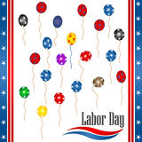 Labor day. Background illustration, vector Royalty Free Stock Photo