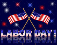 Labor Day background. Stock Image
