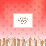 Labor day background Stock Photos