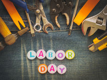 Labor day background concept Stock Photo