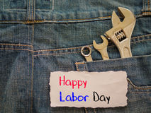 Labor day background concept Royalty Free Stock Photos