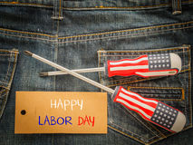 Labor day background concept Royalty Free Stock Images