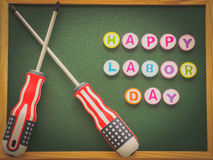 Labor day background concept Stock Images