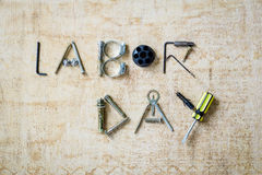 Labor Day background Stock Images
