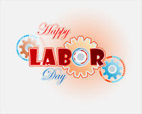 Labor Day background design Stock Photo