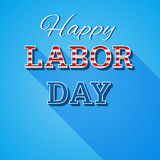 Labor day background. Modern colorful patriotic template in colors of USA flag for posters, flyers, decoration. Stock Images