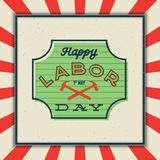 Labor day badge. international workers day vector Illustration. Labor day badge. international workers day greeting card. vector Illustration royalty free illustration