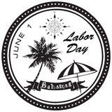 Labor Day Bahamas Stock Photography