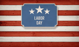 Labor day on banner, Fourth of July, Background, USA themed comp Stock Photography