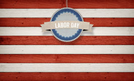Labor day on banner, Fourth of July, Background, USA themed comp Royalty Free Stock Photos