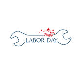 Labor day banner Royalty Free Stock Images