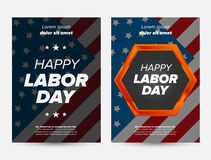 Labor day banner Stock Photography