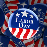 Labor day button background. 3d render Royalty Free Stock Photo