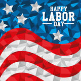 Labor day card design, vector illustration. Stock Photo