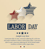Labor day card Royalty Free Stock Photos