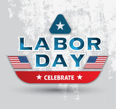 Labor day celebrate poster Royalty Free Stock Photo