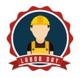 Labor day design Royalty Free Stock Photos