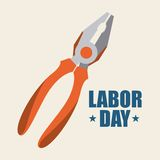 Labor day design Royalty Free Stock Photos