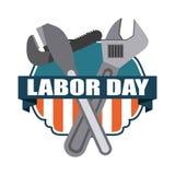 Labor day design Stock Photo
