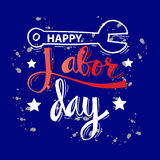 Labor day design. Royalty Free Stock Photos