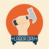 Labor day design Stock Photography