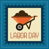 Labor day design Royalty Free Stock Photo