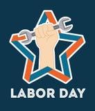 Labor day design Stock Image