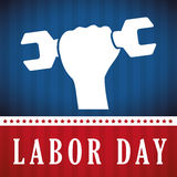 Labor day design. Royalty Free Stock Image