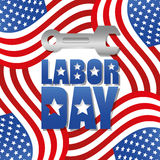 Labor day design. Stock Photography