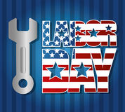 Labor day design. Stock Image