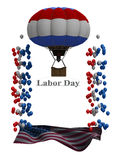 Labor day Flyer Graphic Royalty Free Stock Photos