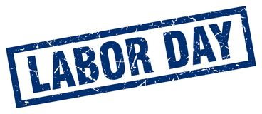 Labor day stamp. Labor day grunge vintage stamp isolated on white background. labor day. sign royalty free illustration