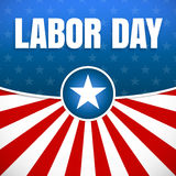 Labor day, Holiday in United States celebrated on first monday in September. Vector illustration Royalty Free Stock Photo