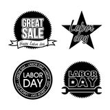 Labor day icons Stock Photo