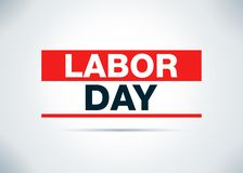 Labor Day Abstract Flat Background Design Illustration. Labor Day Isolated on Abstract Flat Background Design Illustration royalty free illustration