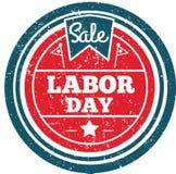 Labor day label. Vector illustration decorative design