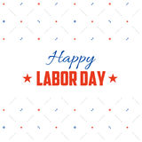 Labor day vector postcard design. Holiday illustration with stars, gears and spanners wrenches vector illustration