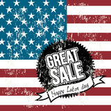 Labor day sale Royalty Free Stock Photography