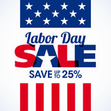 Labor Day Sale Stock Photo
