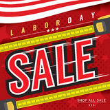 Labor Day Sale Banner. Stock Photography