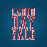 Labor Day Sale Label Royalty Free Stock Images