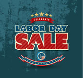 Labor day sale poster. Stock Images