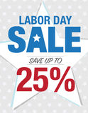 Labor Day Sale sign Royalty Free Stock Photography