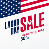Labor Day Sale Stock Photos